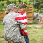 Veteran and his son