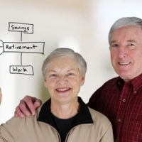 Senior couple retirement planning