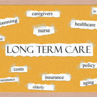Bulletin board -long term care