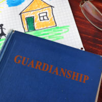 a book that reads guardianship