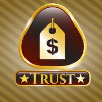 Key hole that reads trust