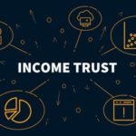 Image that reads Income trust