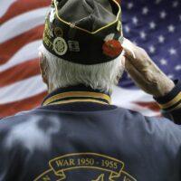 Veteran's Saluting